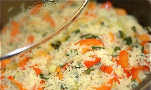 Рецепт плов с овощами